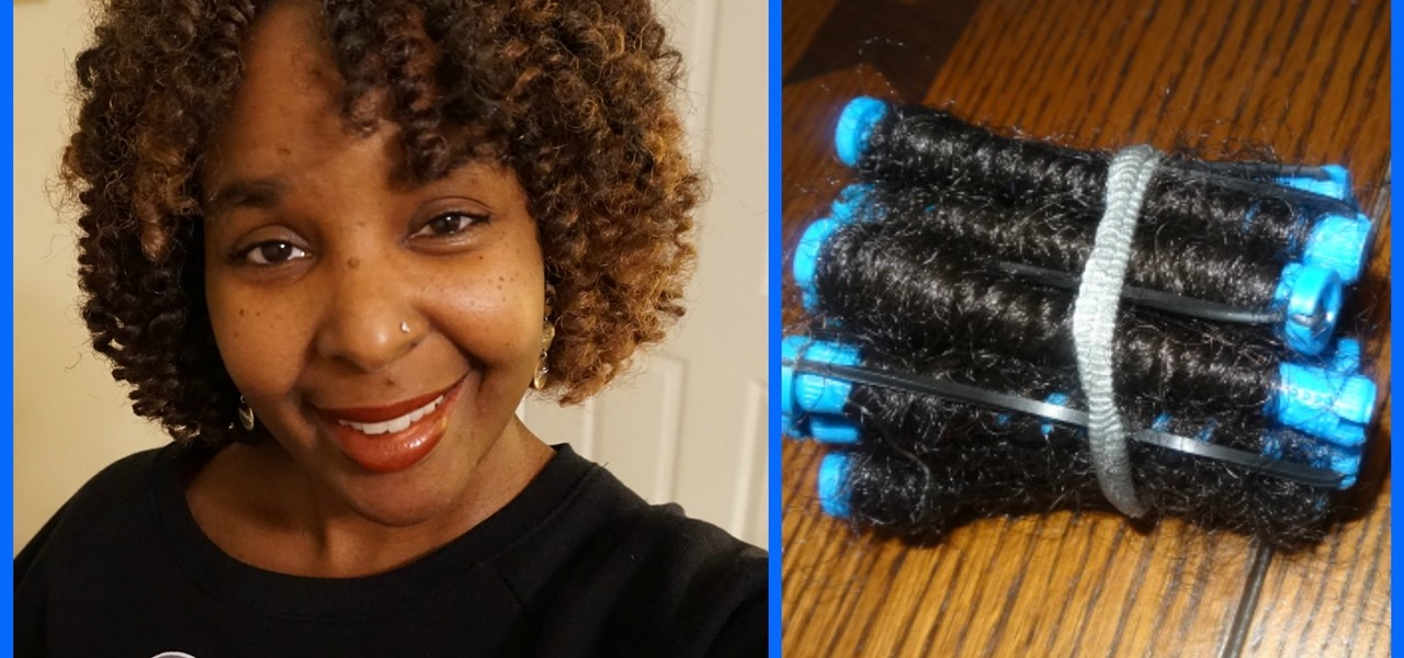 How To How To Curl Marley Hair On Perm Rods Start To Finish A