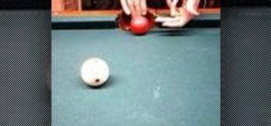 Play hangers and cheat the pocket in pool