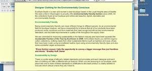 Create a CSS-based layout in Adobe Dreamweaver CS5