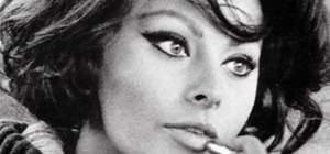 Create a Sophia Loren screen siren makeup look