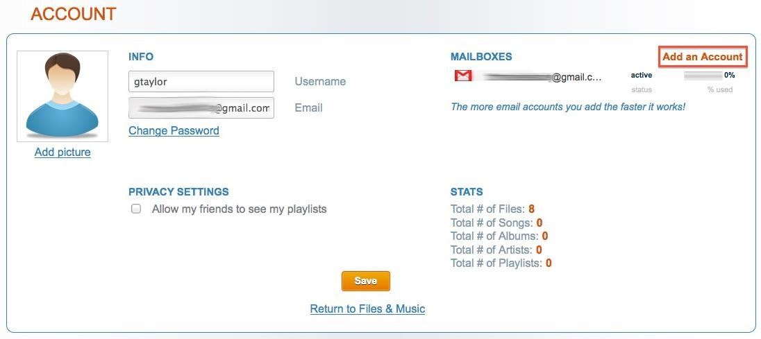 How to Turn All of Your Email Accounts into Unlimited Free Cloud Storage!