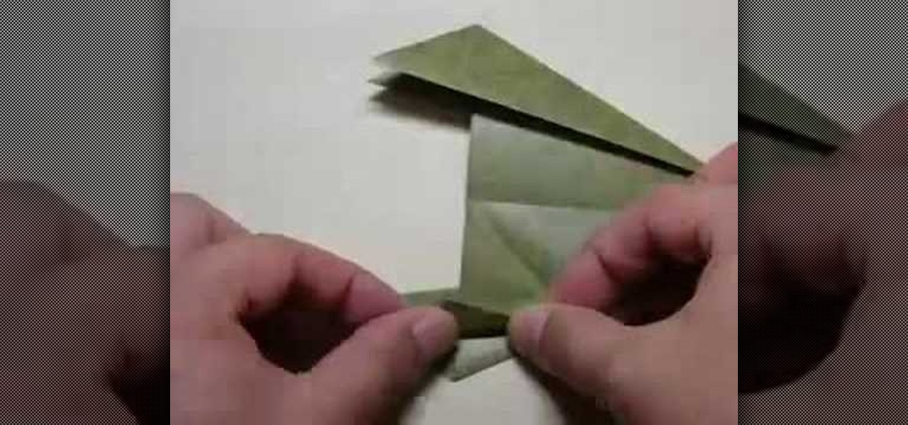 How To Origami A Chinese Rice Dumpling Origami Wonderhowto