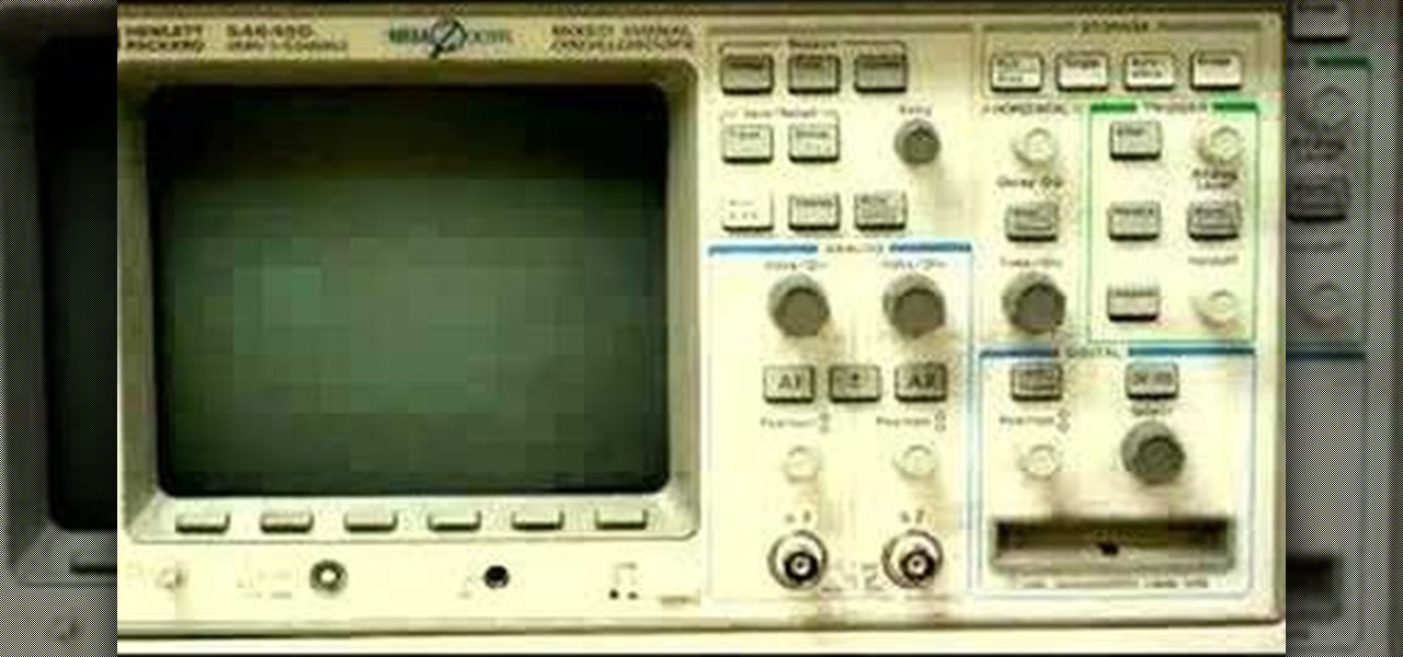 Function Generator And Oscilloscope : How to use an oscilloscope and function generator