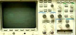 Use an oscilloscope and function generator