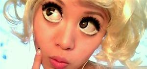 Get Lady Gaga's Anime Eyes