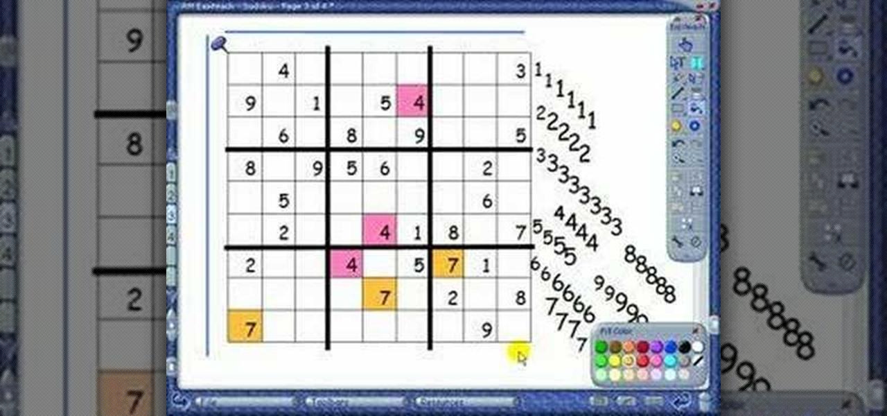 How do you play a sudoku game - answers.com