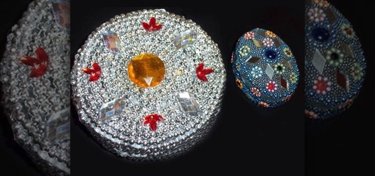 How to Make a Turkishstyle jewelry box or trinket box with your