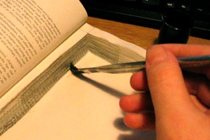 How to Make a Kindle Cover from a Hollowed Out Hardback Book