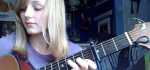 """Play """"Kiss Me"""" by Sixpence None the Richer on guitar"""