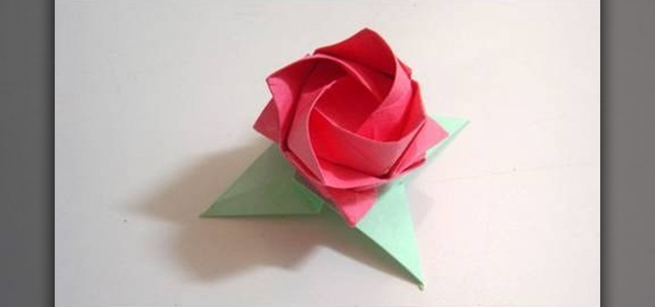 How To Make Origami Rose How to make origami leaves for