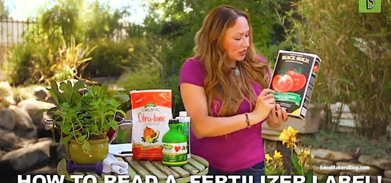 Feed Your Soil and Read a Fertilizer Label
