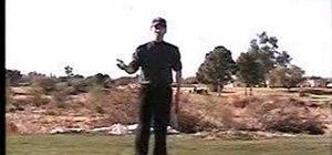 Have a proper golf setup routine
