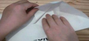 Origami a bag
