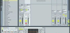 Use sidechain autofilter effects in Ableton