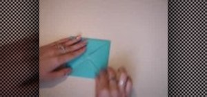 Make a quick-and-easy paper box with origami