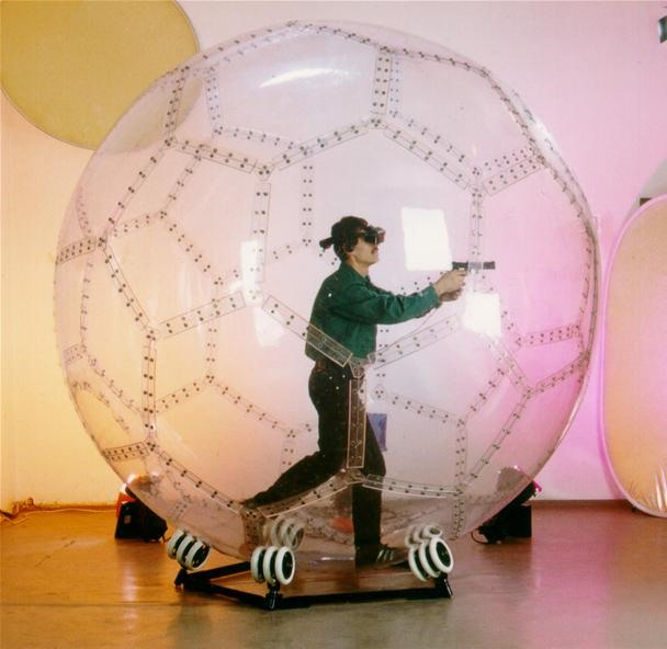 Human Hamster Balls Are the Future of Arcade Gaming