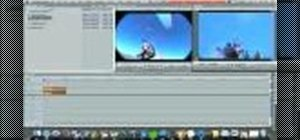 Reverse a video clip in Final Cut Pro 6