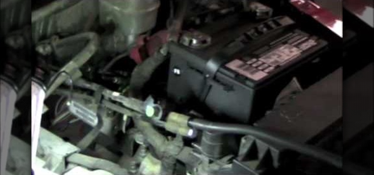 How To Smoke Test An Evap Leak Code P0442 In A 2002 Jeep