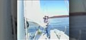 Flake the mainsail when sailing
