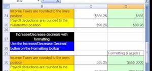 Round to the penny or dollar in Microsoft Excel
