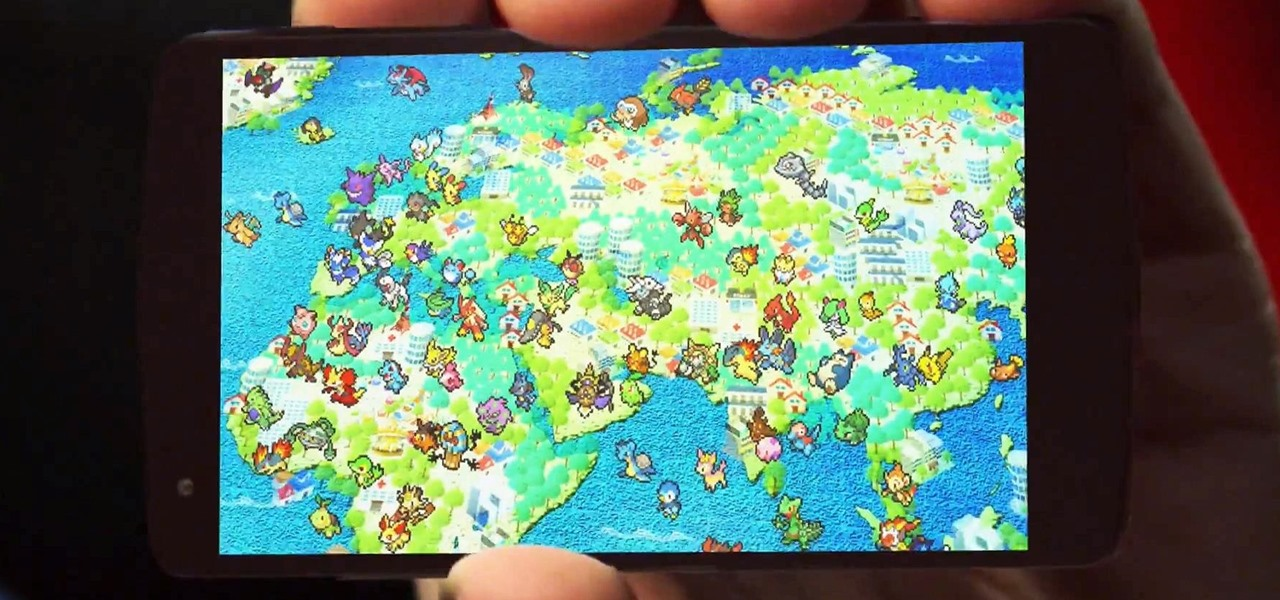 Catch Pokémon Using Google Maps
