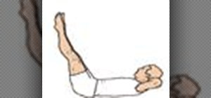 Do the beginner pilates Double Straight Leg Lower Lift