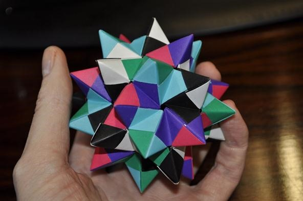 Palm-Sized Pentakis Dodecahedron