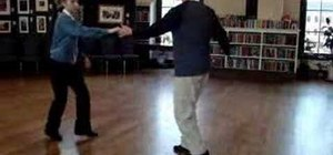 Do a Jitterbug dance routine