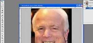 Whiten John McCain's yellow teeth