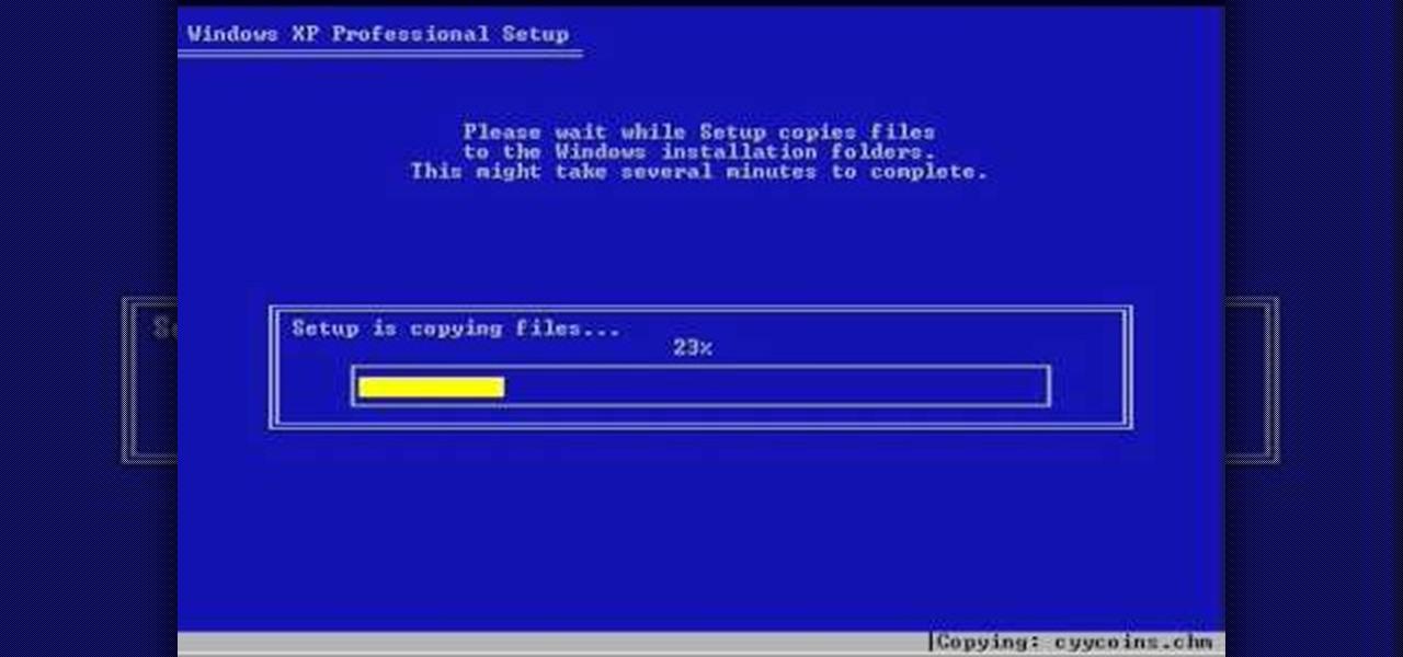 Windows XP startup zip Camp