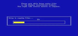 Repair Windows XP with a boot disk