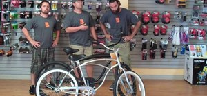 Choose the right sized beach cruiser bicycle for men