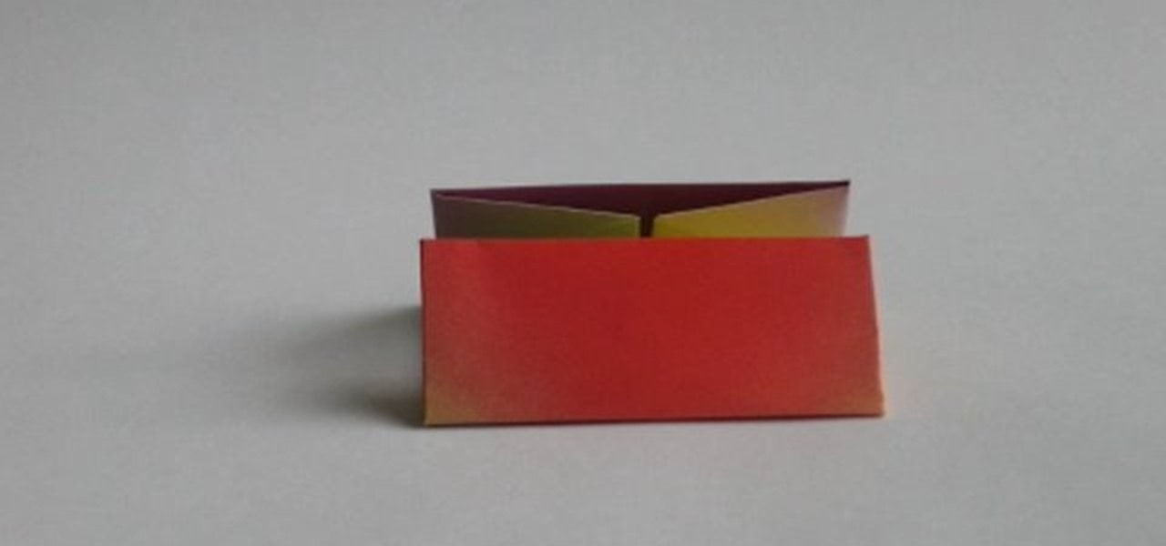 How to Fold an origami box « Origami :: WonderHowTo - photo#45
