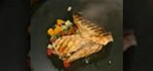 Cook grilled pompano fish with Emeril Lagasse