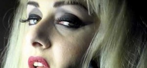 "Get Lady Gaga's makeup look from ""Bad Romance"""