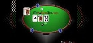 Slow play a Texas Hold'em hand