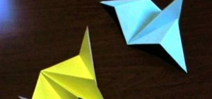 Fold an origami bird and starship