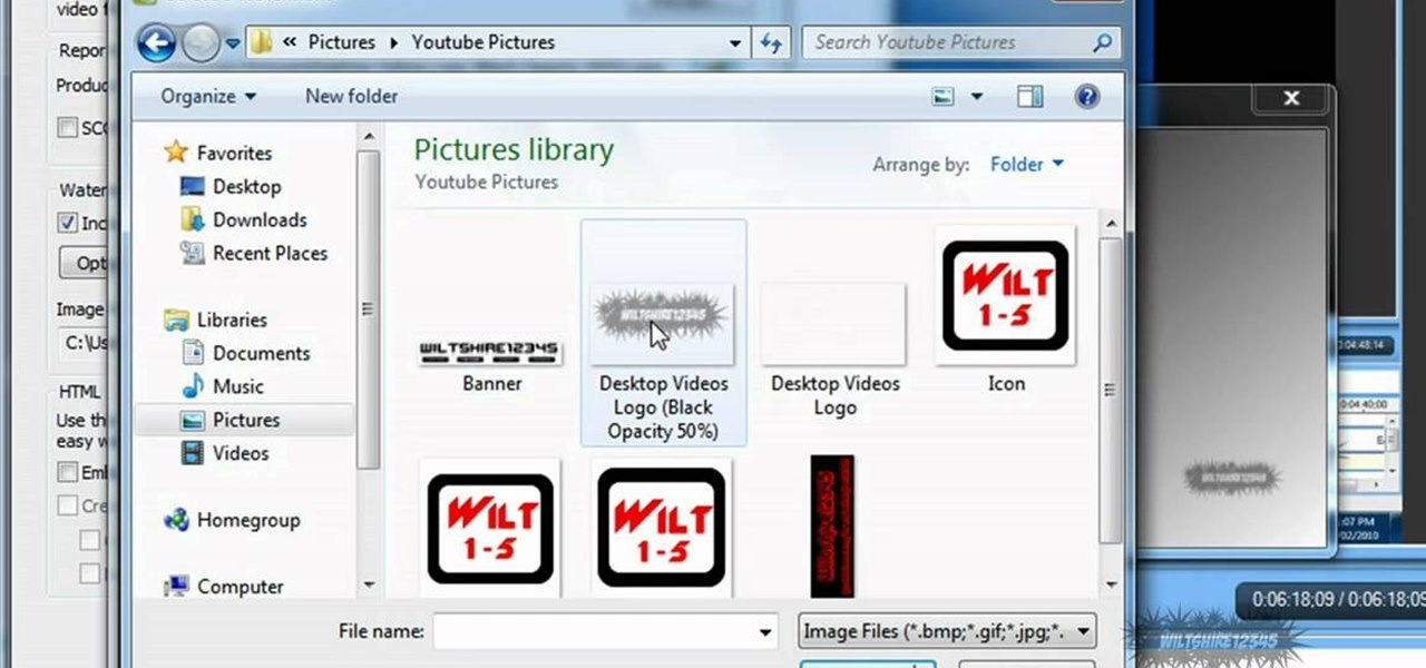 How to add a watermark to your videos using camtasia studio 6 how to add a watermark to your videos using camtasia studio 6 camtasia studio wonderhowto ccuart Image collections
