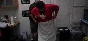 Wrap a toga