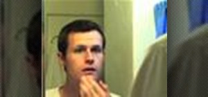 Practice good skin care for men