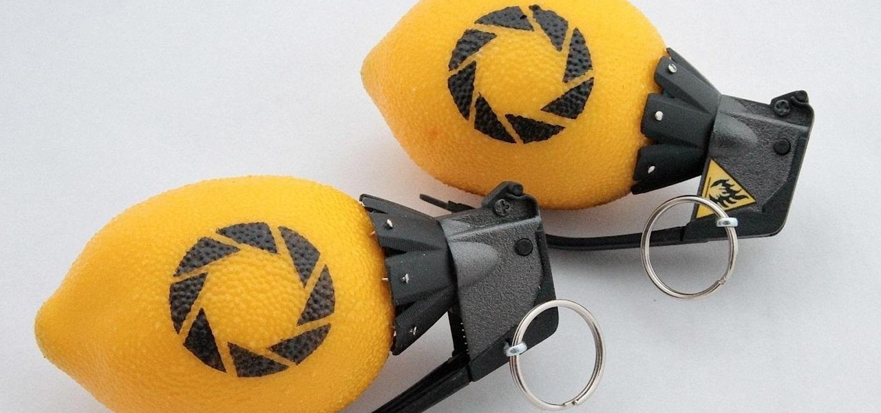 When Life Gives You Lemons, Make Lemon Grenades (Portal 2's Cave Johnson Would Be Proud)