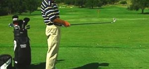 "Use the ""tilt the T"" drill to cure a golf pull shot"