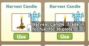 FarmVille Limited Time Crafting Recipes