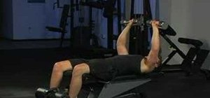Do dumbbell chest press incline reduction