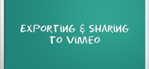Optimize exported video for Vimeo in iMovie