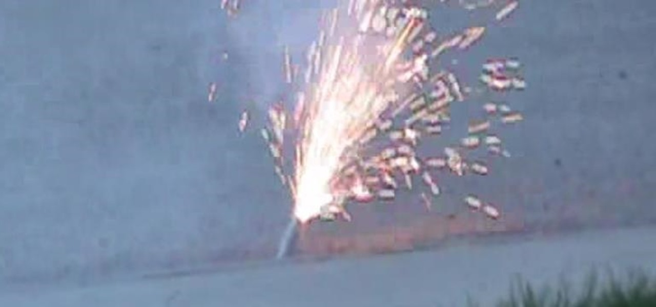 Make a Crazy Sparkler Bomb That Actually Explodes