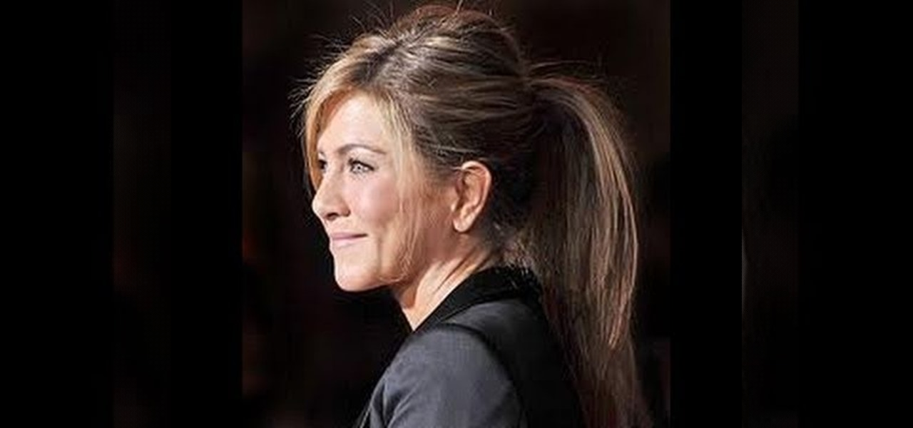 how to style poofy hair how to get aniston s poofy high ponytail 3624