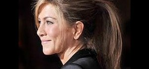 Get Jennifer Aniston's poofy high ponytail