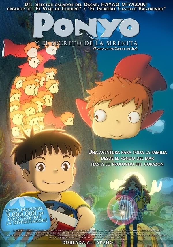 Ponyo « Movie Poster Design
