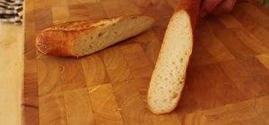 Make simple crispy parmesan crisps/croutons